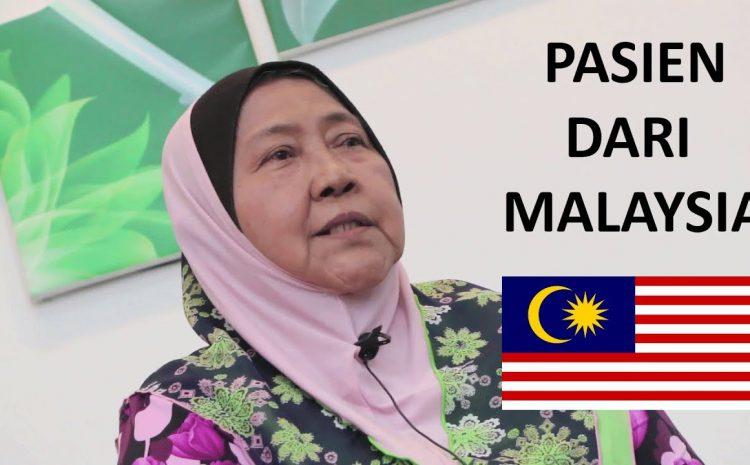 Pasien Ini Datang Jauh Dari Malaysia Demi Berobat Di Klinik Nyeri